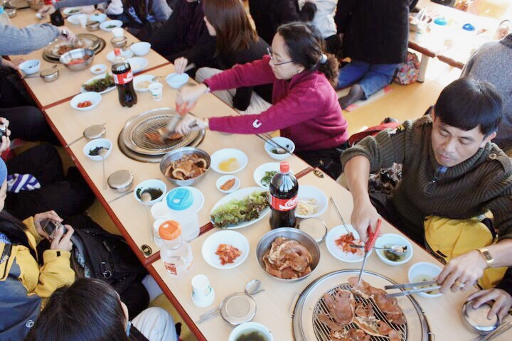 Korean style lunch