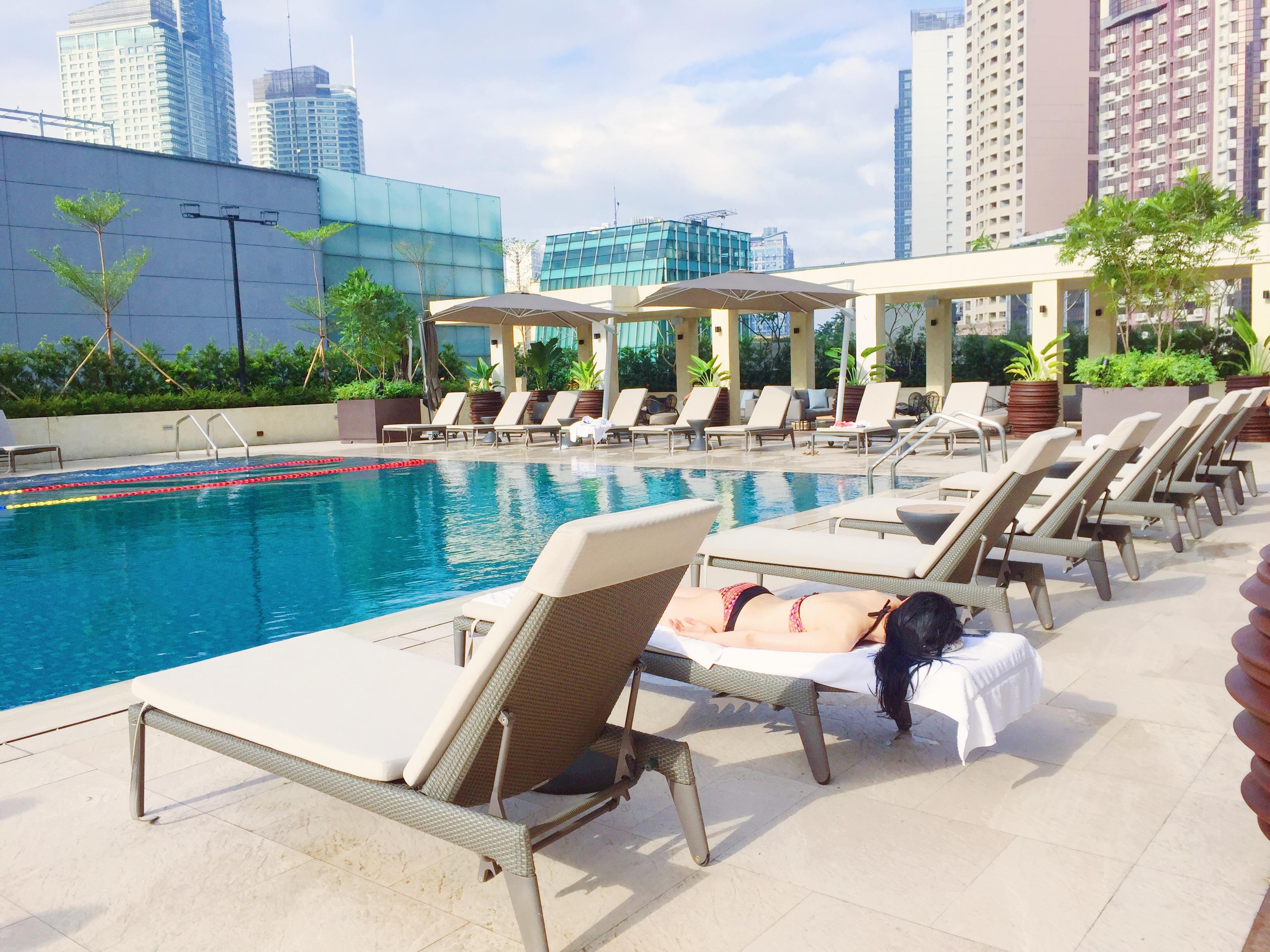Makati Shangri La Pool Area